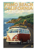 Pismo Beach  California - VW Coastal Drive