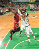 Miami Heat v Boston Celtics - Game Three  Boston  MA - MAY 7: Dwyane Wade and Paul Pierce