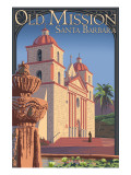 Old Mission - Santa Barbara  California
