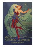 Ragno Azzurro (The Blue Spider) Reproduction d'art par Leopoldo Metlicovitz
