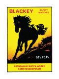 Blackey Safety Matches