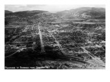 Durango  Colorado - Panoramic View from Smelter Hill