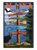 Juneau  Alaska - Destination Sign