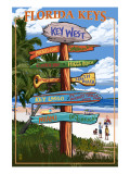 Key West  Florida - Destination Signs
