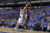 Los Angeles Lakers v Dallas Mavericks - Game Three  Dallas  TX - MAY 6: Kobe Bryant and Jason Kidd