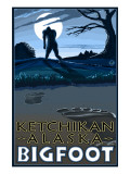 Ketchikan  Alaska - Bigfoot