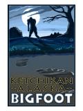Ketchikan  Alaska - Bigfoot