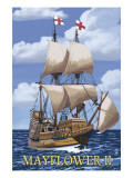 Plimoth Plantation  Massachusetts - Mayflower II