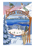 Lake Tahoe  CA Winter Views