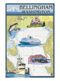 Bellingham  Washington - Nautical Chart