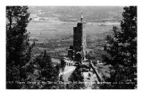 Colorado Springs  Colorado - Shrine of the Sun  Cheyenne Mt with Broadmoor