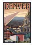 Denver  Colorado - Skyline View