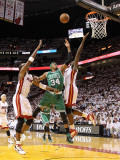 Boston Celtics v Miami Heat - Game Five  Miami  FL - MAY 11: Paul Pierce and Joel Anthony