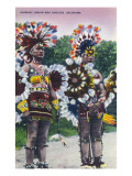 Oklahoma - Shawnee Indian War Dancers