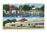 Toledo  Ohio - Walbridge Park Amusement Center View