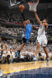 Oklahoma City Thunder v Memphis Grizzlies - Game Four  Memphis  TN - MAY 9: Russell Westbrook and S