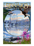 Seward  Alaska - Montage