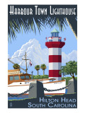 Hilton Head  South Carolina - Harbour Town Lighthouse