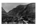 Ouray  Colorado - Northern View from Town