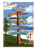 Long Beach Island  New Jersey Destination Sign