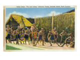 Roanoke Island  North Carolina - The Lost Colony Replication  Indian Scenes