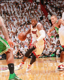 Boston Celtics v Miami Heat - Game Five  Miami  FL - MAY 11: Dwyane Wade and Delonte West