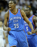Oklahoma City Thunder v Memphis Grizzlies - Game Four  Memphis  TN - MAY 9: Kevin Durant