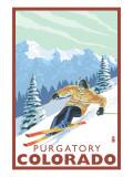 Purgatory  Colorado - Downhill Skier