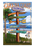 Hilton Head  South Carolina - Destination Signs