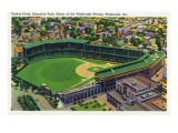 Pittsburgh  Pennsylvania - Forbes Field  Schenley Park View