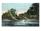 Elmira  New York - Fitches Bridge Water Toboggan