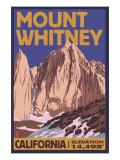 Mt Whitney  California Peak