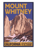 Mt Whitney  California Peak