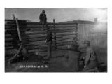 South Dakota - Branding Cattle Scene