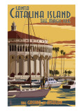 Catalina Island  California - Casino & Marina