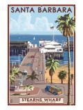Santa Barbara  California - Stern's Wharf