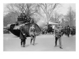 Parade of a Tank In a Washington Liberty Bond Parade