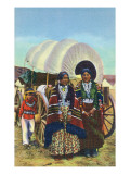 Navajo Women in Traditional Dress