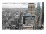 Smith Tower - Seattle  Washington - Then and Now
