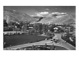 Sun Valley  Idaho - Sun Valley Lodge View of the Village