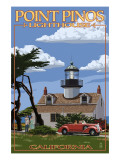 Point Pinos Lighthouse - Monterey  California