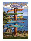 Monterey  California - Destination Sign
