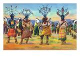 Apache Indians Dance the Devil Dance