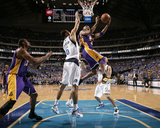 Los Angeles Lakers v Dallas Mavericks - Game Three  Dallas  TX - MAY 6: Kobe Bryant and Tyson Chand