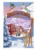 Steamboat Springs  Colorado Montage