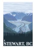 Stewart  BC - Glacier Scene