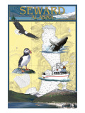 Seward  Alaska - Nautical Chart