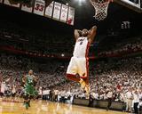 Boston Celtics v Miami Heat - Game Five  Miami  FL - MAY 11: LeBron James and Paul Pierce