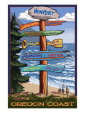 Newport  Oregon - Sign Destinations