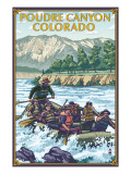 Poudre Canyon  Colorado - Rafting